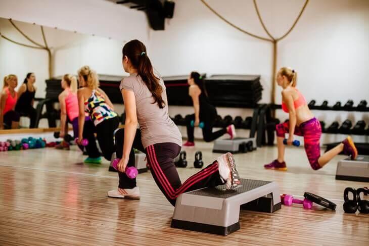 Bild von Kurs im Fitnessstudio