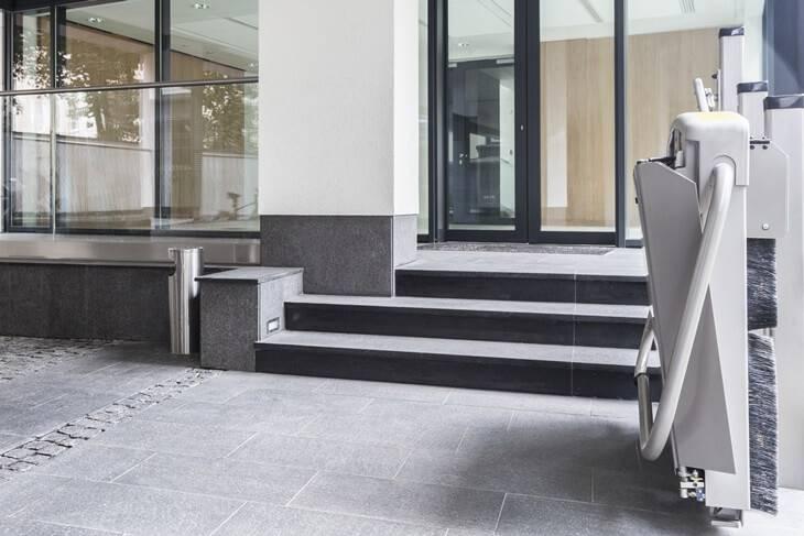 Bild von Plattform-Treppenlift