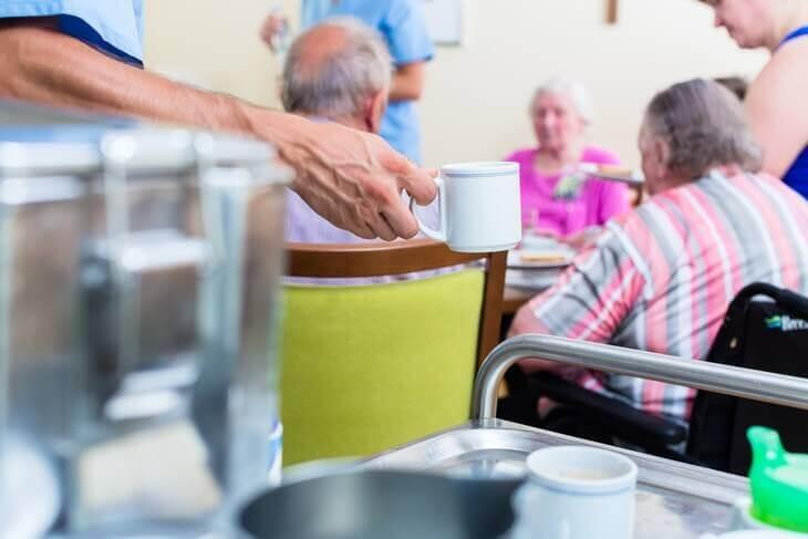 Bild von Kaffeepause im Pflegeheim