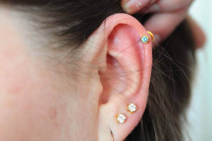 Anleitung stechen tragus selber piercing labret piercing