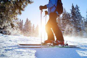 Bild von Skifahrer