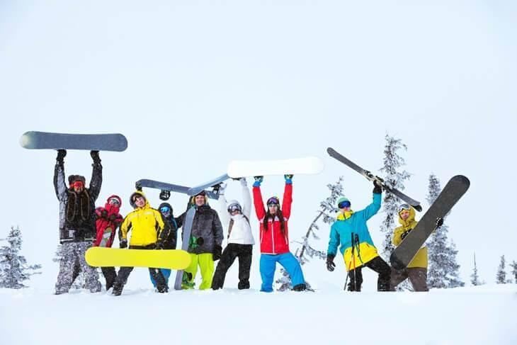 Bild von Snowboardkurs