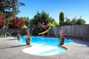 Bild von hochwertigem Swimmingpool