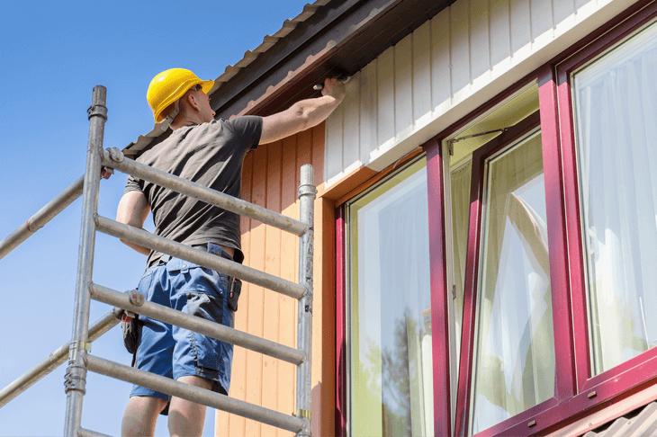 Fassade Streichen Fassade Sanieren Alle Kosten Einfach
