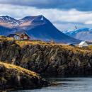 Bild von Bergen in Island