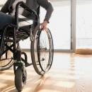 Bild von Rollstuhl in Wohnung