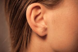 Bild von angelegtem Ohr